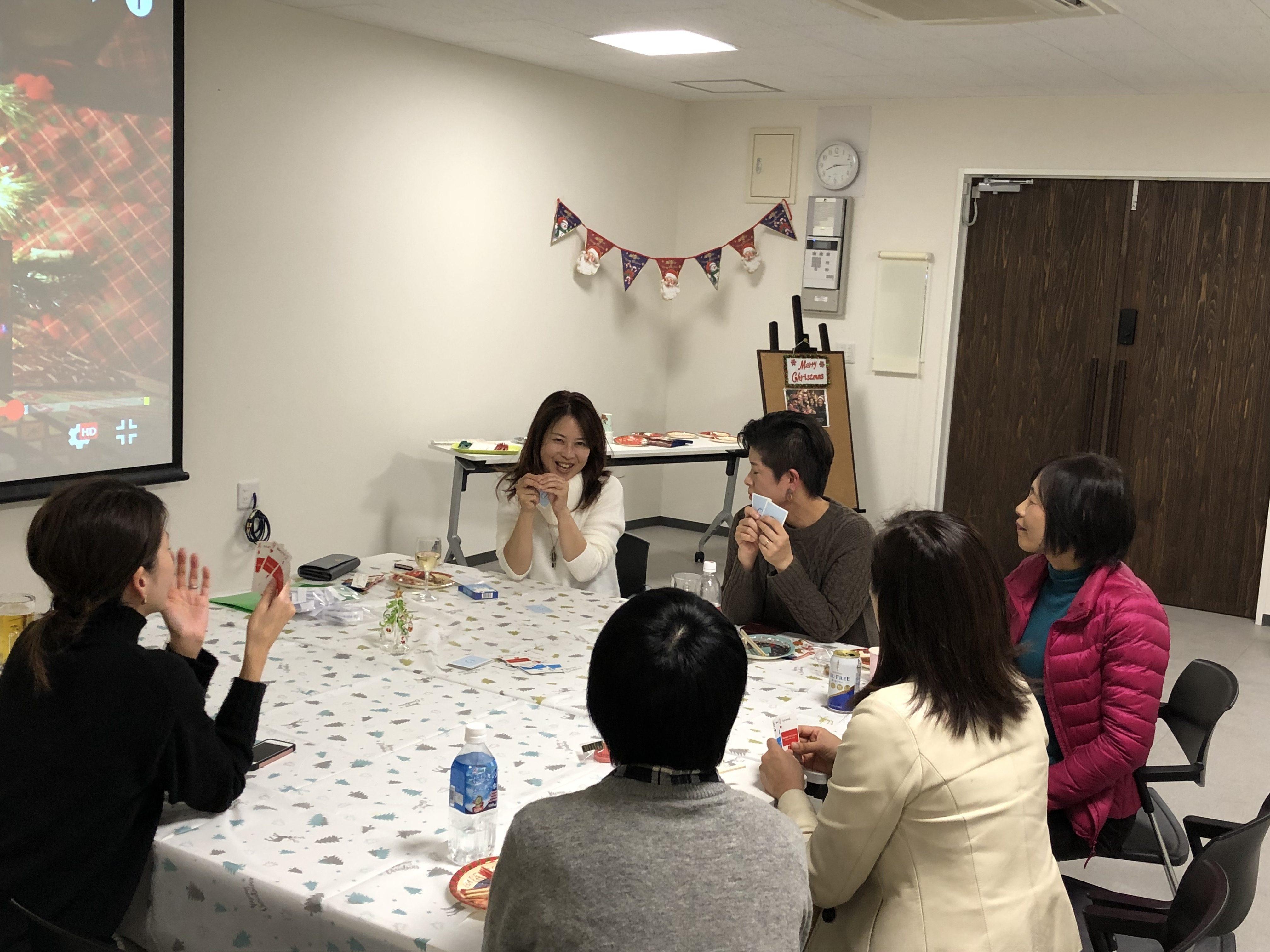 "EIGOBOOの""Christmas Party"" 大人のゲーム大会!"